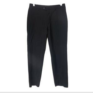 John Varvatos dress pants wool black 30 R hole